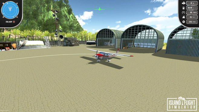 Island Flight Simulator Screenshot 1