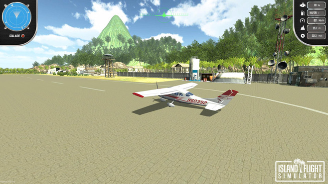 Island Flight Simulator Screenshot 2
