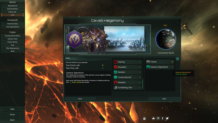 Stellaris: Lithoids Species Pack Screenshot 5