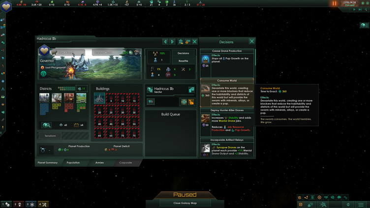 Stellaris: Lithoids Species Pack Screenshot 7