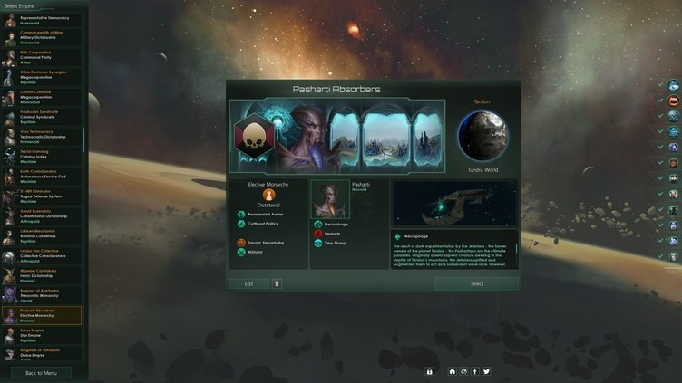 Stellaris: Necroids Species Pack Screenshot 7