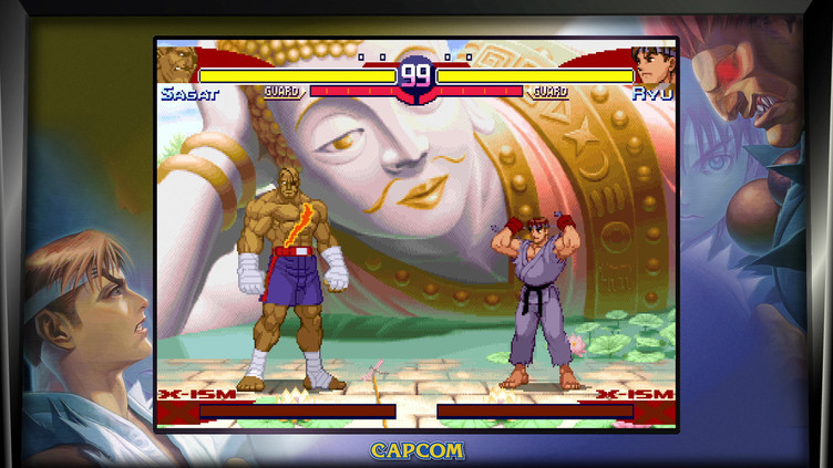 Street Fighter 30th Anniversary Collection Screenshot 1