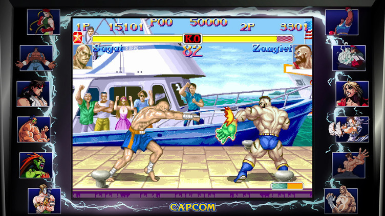 Street Fighter 30th Anniversary Collection Screenshot 18