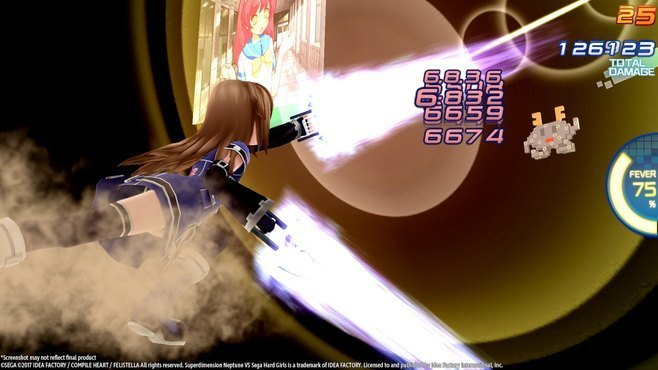 Superdimension Neptune VS Sega Hard Girls Screenshot 1