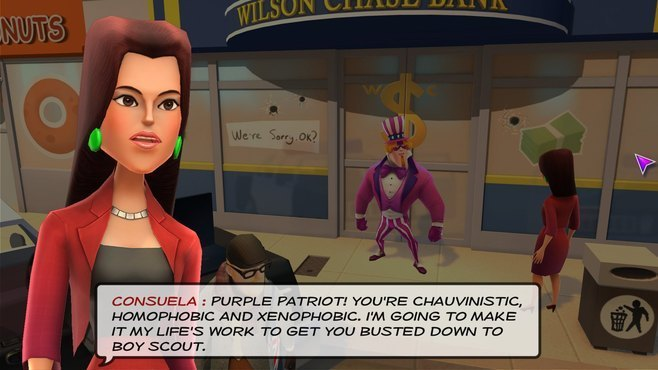 Supreme League of Patriots - Issue 3: Ice Cold in Ellis Screenshot 1