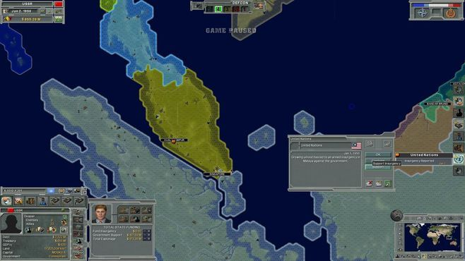 Supreme Ruler: Cold War Screenshot 1