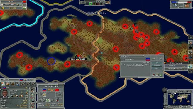 Supreme Ruler: Cold War Screenshot 2