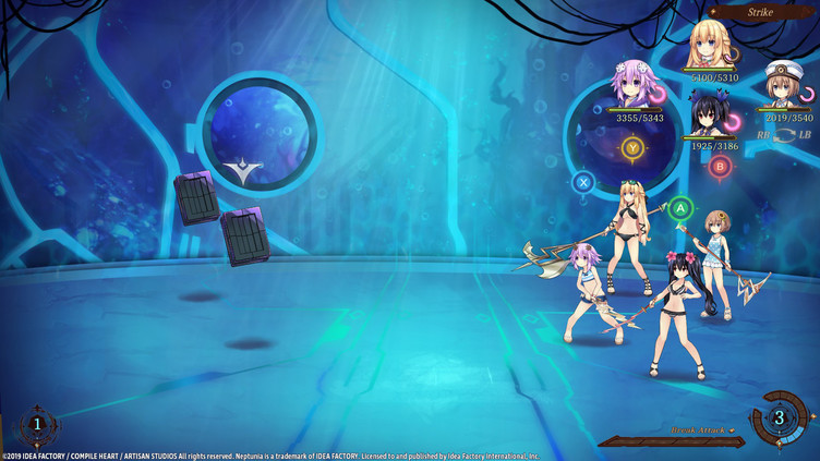 Super Neptunia RPG - Swimsuit Set DLC Screenshot 5