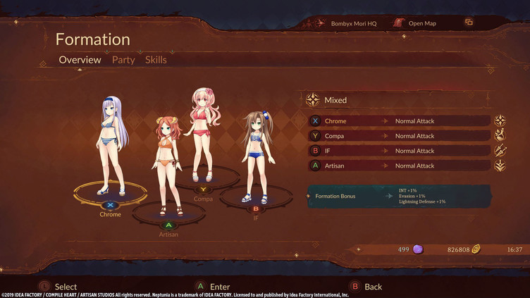 Super Neptunia RPG - Swimsuit Set DLC Screenshot 3