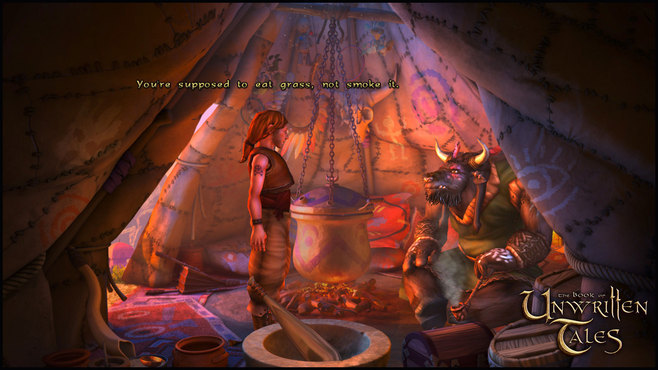 The Book of Unwritten Tales Deluxe Edition Screenshot 2