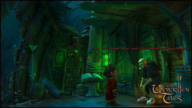 The Book of Unwritten Tales Deluxe Edition Screenshot 7
