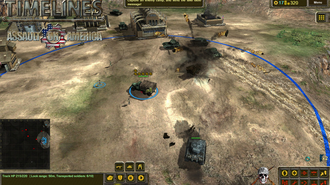 Timelines: Assault On America Screenshot 1