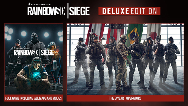 Tom Clancy's Rainbow Six Siege Year 4 - Deluxe Edition Screenshot 1