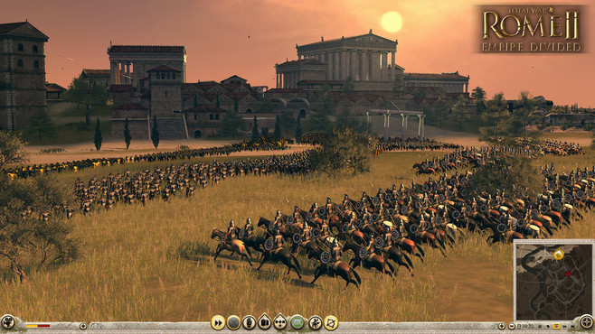Total War: ROME II - Empire Divided Screenshot 2