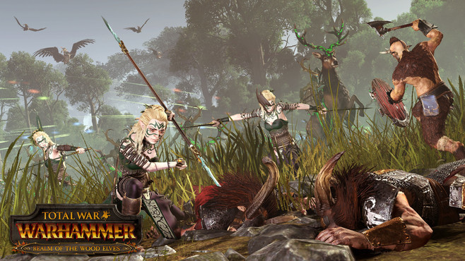 Total War: WARHAMMER - Realm of The Wood Elves Screenshot 1