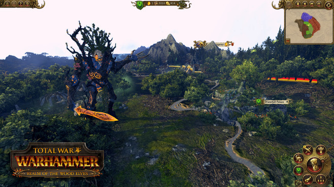 Total War: WARHAMMER - Realm of The Wood Elves Screenshot 4