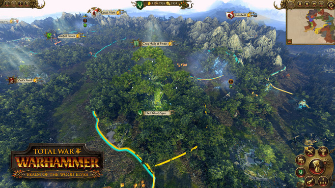 Total War: WARHAMMER - Realm of The Wood Elves Screenshot 5