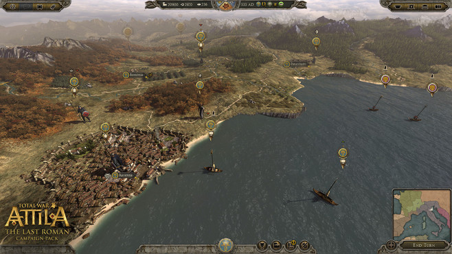 Total War™: ATTILA - The Last Roman Campaign Pack Screenshot 2