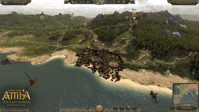 Total War™: ATTILA - The Last Roman Campaign Pack Screenshot 4
