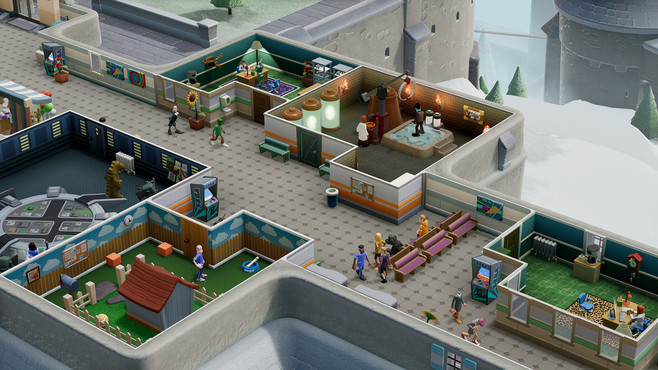 Two Point Hospital: Bigfoot Screenshot 1
