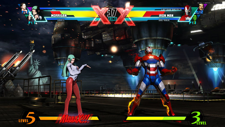 ULTIMATE MARVEL VS. CAPCOM 3 Screenshot 1