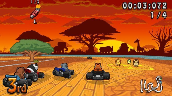 Wacky Wheels HD Screenshot 1