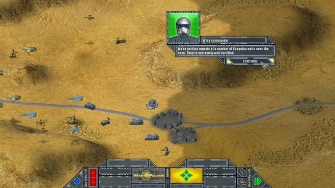 War on Folvos Screenshot 3