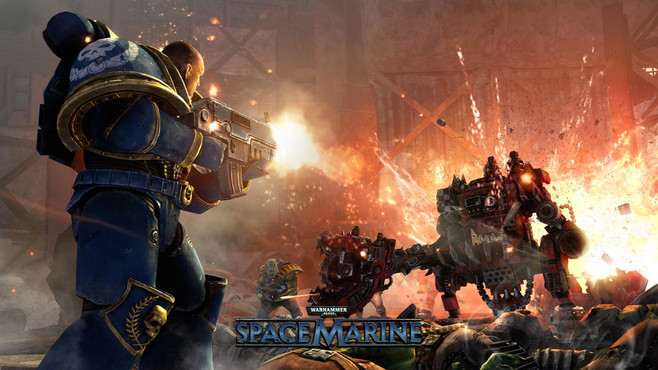Warhammer® 40,000™: Space Marine Screenshot 5