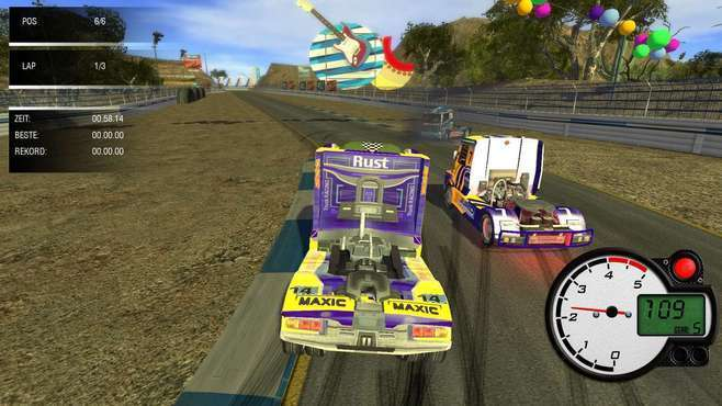 World Truck Racing Screenshot 2