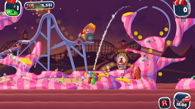 Worms Crazy Golf Screenshot 4