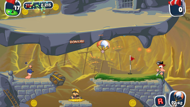 Worms Crazy Golf Screenshot 5