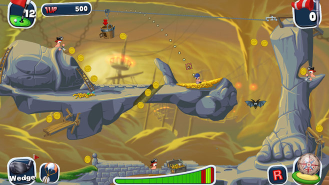 Worms Crazy Golf Screenshot 6