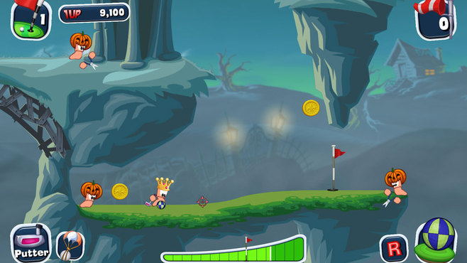 Worms Crazy Golf Screenshot 10