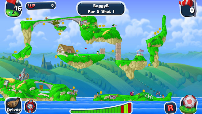 Worms Crazy Golf Screenshot 12