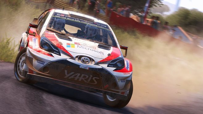 WRC 7 FIA World Rally Championship Screenshot 2