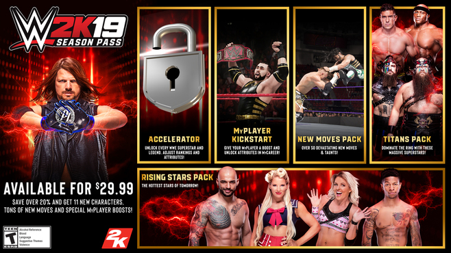 WWE 2K19 - Season Pass Screenshot 1