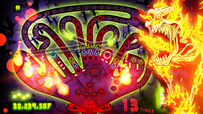 Zombie Pinball Screenshot 1